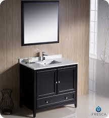 fresca fvn2036es oxford 36 inch espresso traditional bathroom