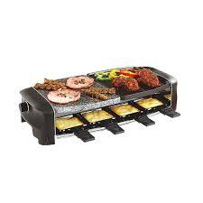appareil multifonction cuisine appareil à raclette multifonctions 8 personnes domoclip raclettes