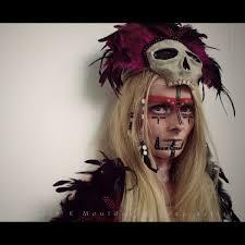 halloween airbrush makeup kit voodoo priestess makeup tutorial saubhaya makeup
