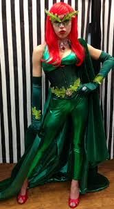 Poison Ivy Halloween Costume Ideas Poison Ivy Costume Batman Villain Comic Book Cosplay Dallas