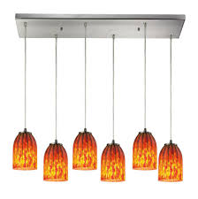 Multi Pendant Lighting Fixtures Elk Lighting 10335 6rc At Wolff Design Center Plumbing Showrooms