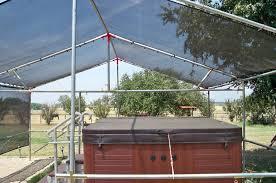 Tarp Canopy Kits by Shade King Shade Screen Mesh Tarp Greenhouse Hoop House