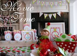 Christmas Party For Kids Ideas - a little loveliness elf movie christmas party