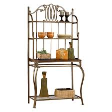Charleston Forge Bakers Rack Hillsdale Montello Bakers Rack Hayneedle