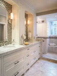 Double Vanity Mirrors For Bathroom by Bathroom Tiling Ideas Master Bathroom With Custom Double Vanity
