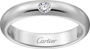Men Wedding Rings by Crb4071800 1895 Wedding Band Platinum Diamond Cartier