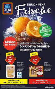 Aldi Bad Saulgau Aldi Süd Prospekt 27 11 02 12 2017 Seite 37