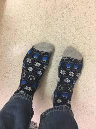 chanukah socks brookebulmash