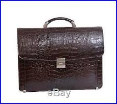 sacoche bureau sac homme cuir finest sacoche cuir pour hommes luxe brun crocodile