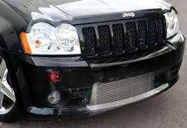turbo jeep srt8 you all asked for it we listened procharger race intercooler