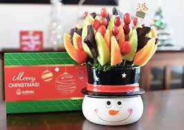 christmas fruit arrangements give the last minute gifts from edible arrangements our