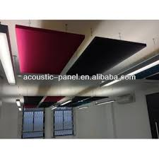 Sound Absorbing Ceiling Panels by China Fiberglass Suspended Acoustic Ceiling Tiles For Auditorium