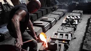 sunset foundry visit cast iron pour youtube