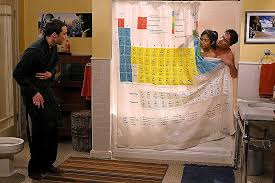 Shower Curtain Chemistry Shower Curtains Periodic Table Shower Curtain Big Bang Theory