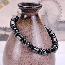magnetic stone bracelet images Black stone magnetic therapy bracelet emporium pop jpg