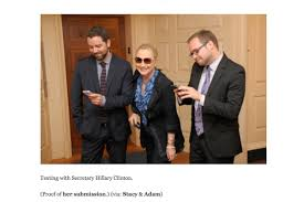 Texts From Hillary Meme - hillary clinton submits her own image to texts from hillary