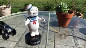 stay puft marshmallow knocker solar powered