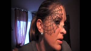 Spider Halloween Makeup The Itsy Bitsy Spider Make Up Hilfe Ich Hab Eine Spinne Im