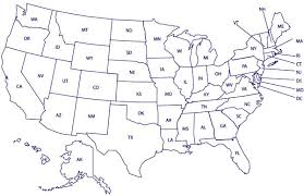 printable usa map united states map black and white united states map black and