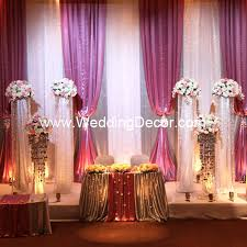 wedding backdrop themes wedding wedding decorations backdrop silver and white panels