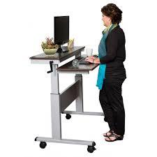 Adjustable Height Desk Frame by Standing Desk Computer Workstation Office Storage Furniture Dry