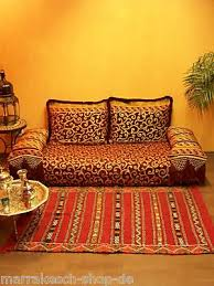 arabisches sofa orientalische arabische marokkanische sofa sitzgarnitur sitzecke