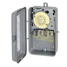 intermatic light switch timer shop intermatic 40 amp 1 outlet mechanical residential hardwired