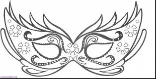 black and white mardi gras masks great carnival mask coloring page masks and masquerade pages