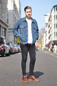 denim jacket with jeans oasis amor fashion