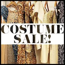 costume sale at theater performance studies