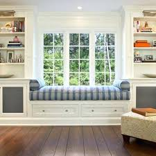 bookcase window seat with bookcase photos window seat surrounded
