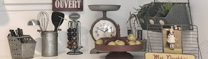 deco de cuisine objets de cuisine accessoires décoration style ancien rétro