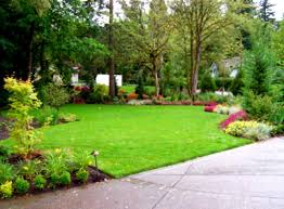 Landscaped Backyard Ideas by Wonderful Home Backyard Landscaping With Outdoor Living Furniture
