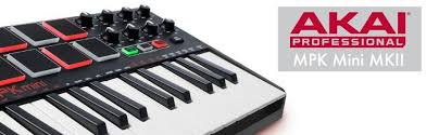amazon black friday midi keyboards sale akai professional mpk mini mkii 25 key usb midi keyboard u0026 drum