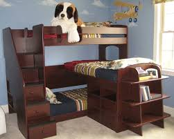 Smallkudsroom  Shaped Corner Kid Bunk Bed Modern Small Kids - Small kids bunk beds