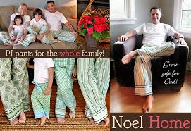 noel home comfy pj for the whole family sew4home