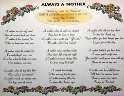 poems from son to mother on mother u0027s day mother u0027s day poems to