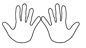 learn colors coloring pages hands how to draw hand for kids and