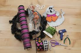Halloween Mesh Wreaths by Diy Boo Halloween Mesh Wreath The Wreath Depot