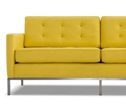 Yellow Sofa Bed Franklin Loveseat Joybird