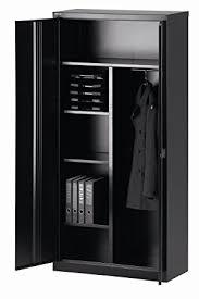 armoires bureau bisley armoire à portes battantes universal vestiaire noir