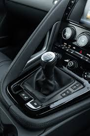 2016 jaguar f type manual awd first drive motor trend