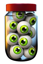 halloween jar of eyeballs png clipart image halloween