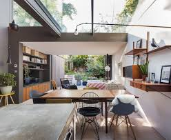 London Home Interiors London House Extensions Reveal The Line Between Old And New