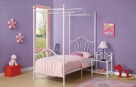 twin canopy beds for girls size comely twin canopy beds for
