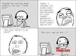 Poker Face Memes - bad poker face customer support olivia s rage comics