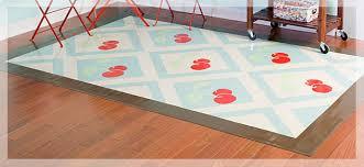 creative ideas cheerful cherry vinyl floorcloth