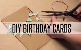 diy birthday cards youtube