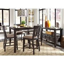 dresbar counter height dining room set casual dining sets