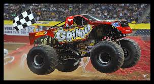 monster truck video for a preview of monster jam this weekend video